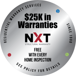 $25,000 Home Warranties with Every Full Inspection
