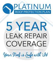 5 Year Roof Leak Repair Warranty