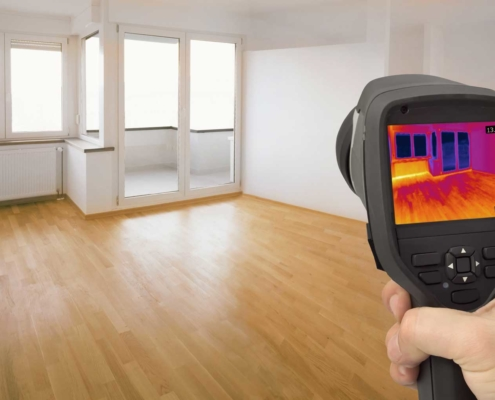 High Caliber Home Inspections - Infrared Thermal Imaging