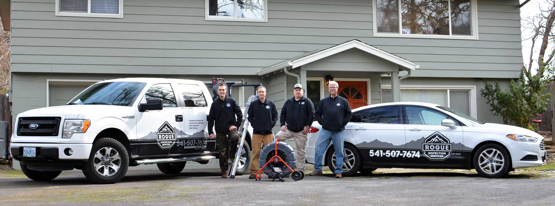 Rogue Inspection Services - Serving Souther Oregon