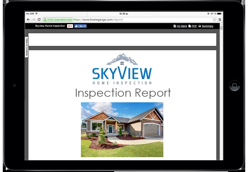 Colorado Spring Home Inspection Skyview Home Gauge