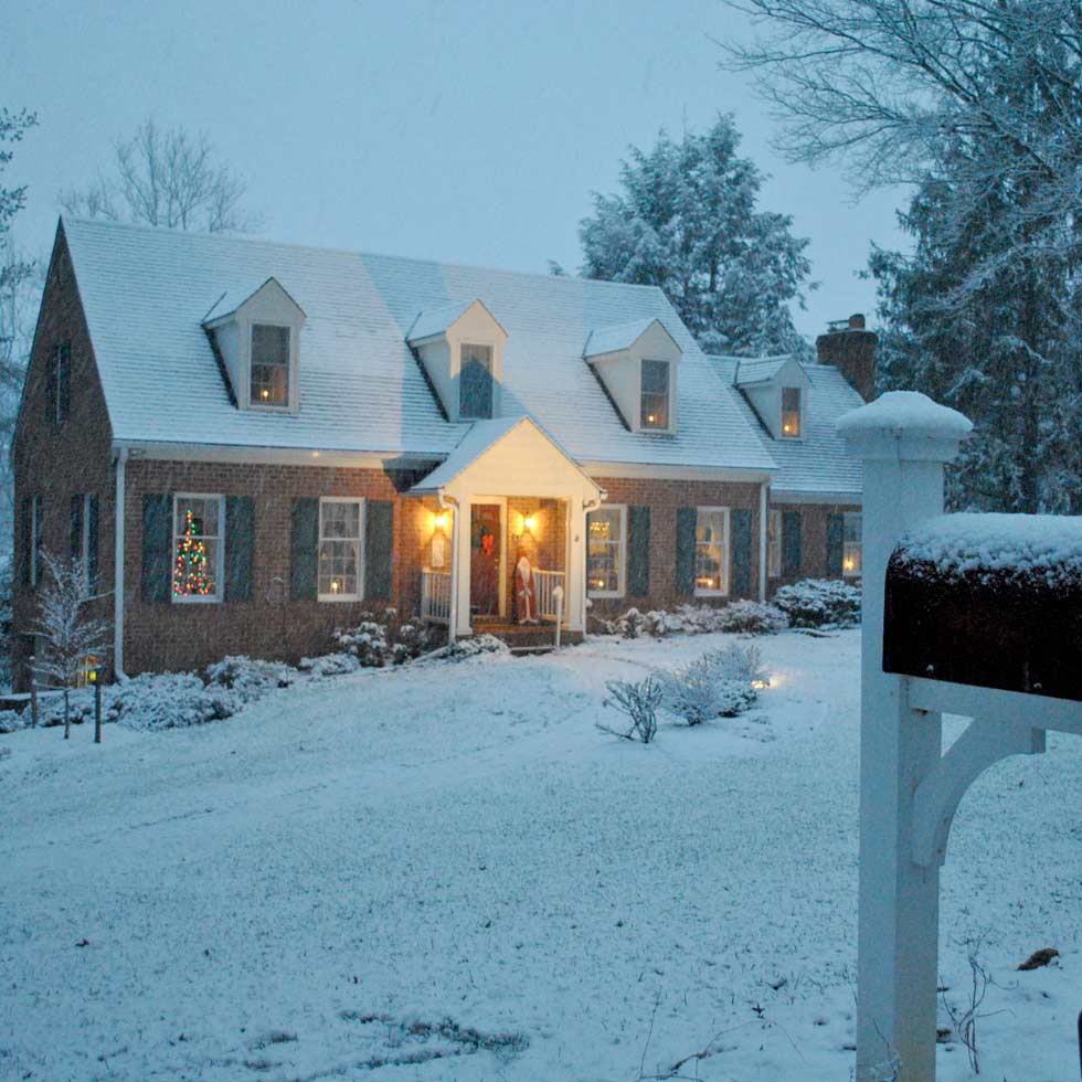 New York Pennsylvania Home Commercial Inspection Winter Vacation