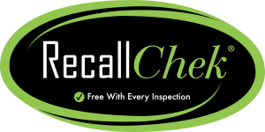 Free RecallCheck with every full home inspection