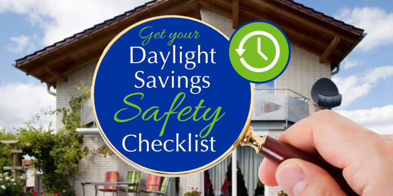 A Homeowner's Daylight Savings Safety Checklist for Fall