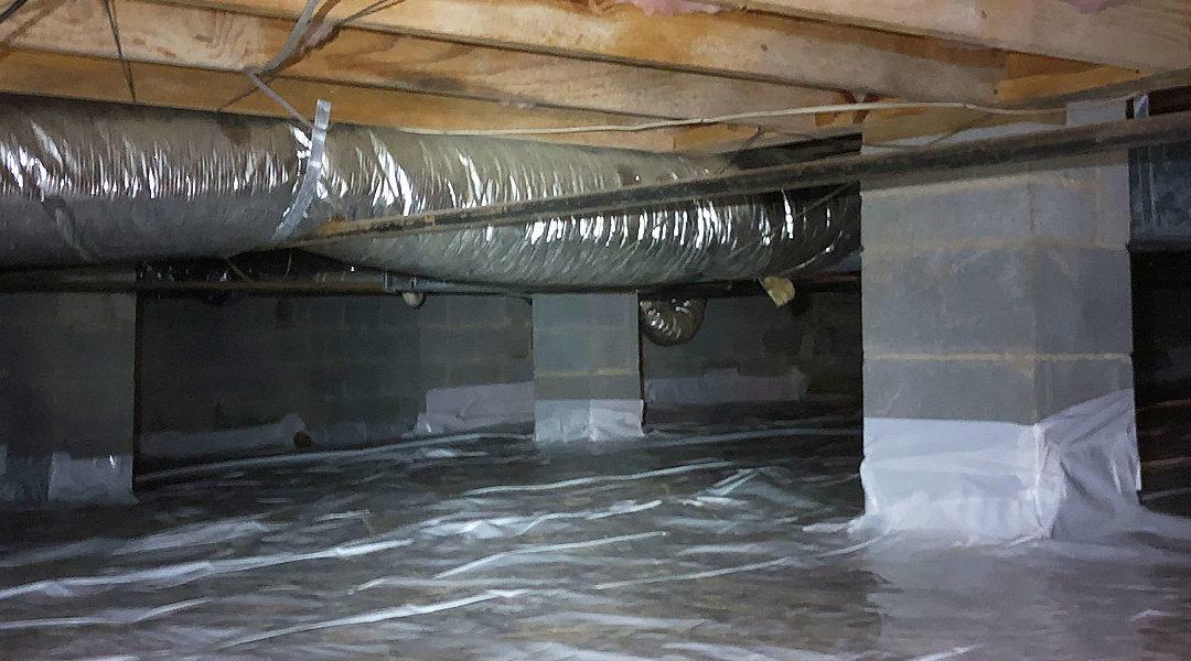 Common Home Inspection Findings – Vapor Barrier