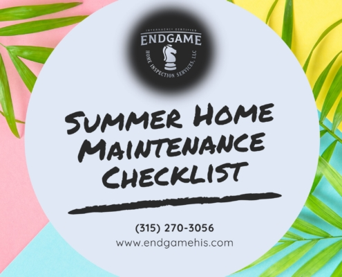 Summer Home Maintenance Checklist